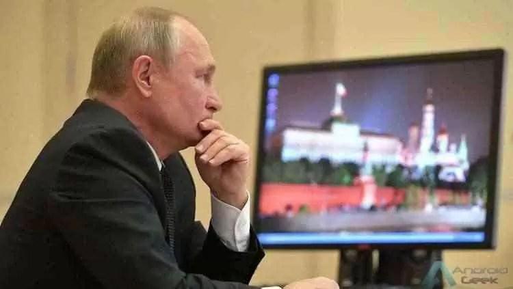 Vladimir Putin ainda usa o Windows XP apesar dos risco de seguranca 1