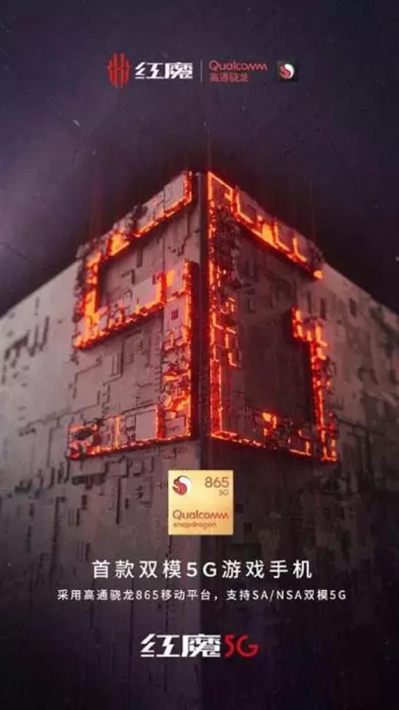 Nubia pronta para lançar o Red Magic 5G no MWC 2020 1
