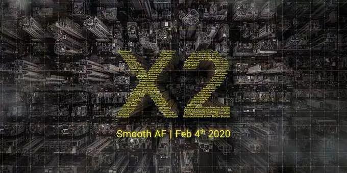 Lançamento do POCO X2