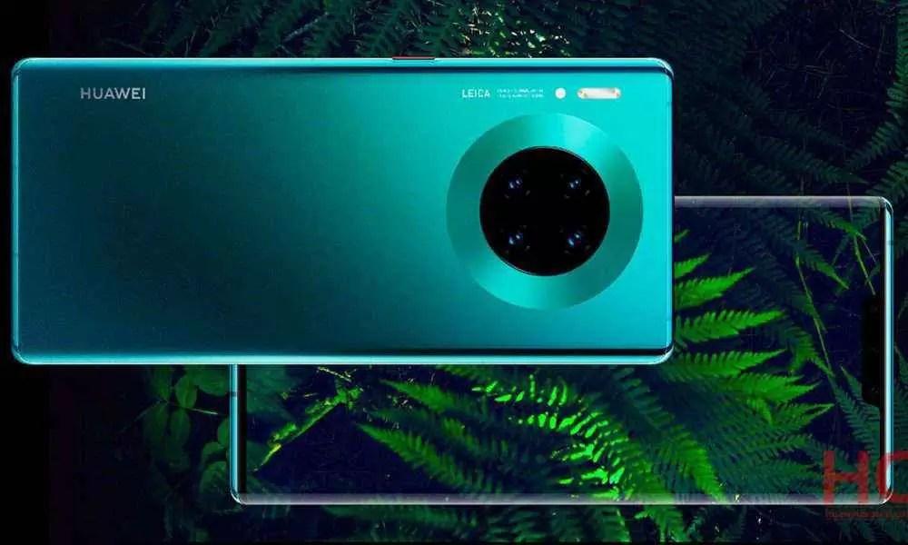 Atualização de gestos de navegação lançada para Huawei Mate 30 5G e 30 Pro 5G 1