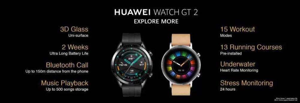 Atualização do Huawei Watch GT 2 traz novas Watch Faces e personalização 1