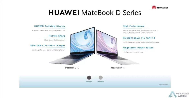 Infográfico: Principais recursos do Huawei MateBook X Pro 2020 2