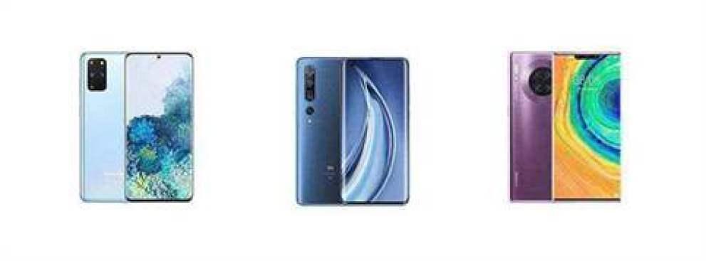 Samsung Galaxy S20 + vs Xiaomi Mi 10 Pro vs Huawei Mate 30 Pro 5G: Comparação Especificações 1