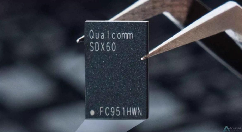 Modem Qualcomm X60 5G anunciado: construído num nó de 5nm, capaz de downloads de 7,5 Gbps 1