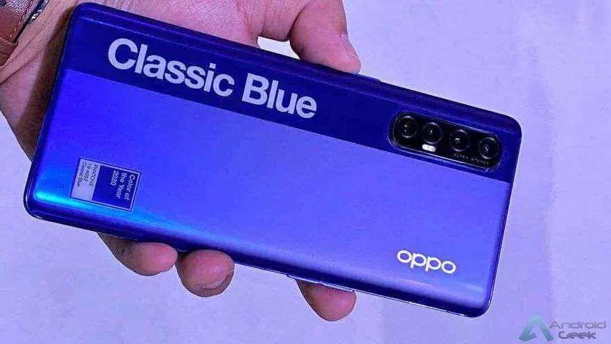 Oppo Reno3 Pro com duas câmaras selfie aparece em lojas 1