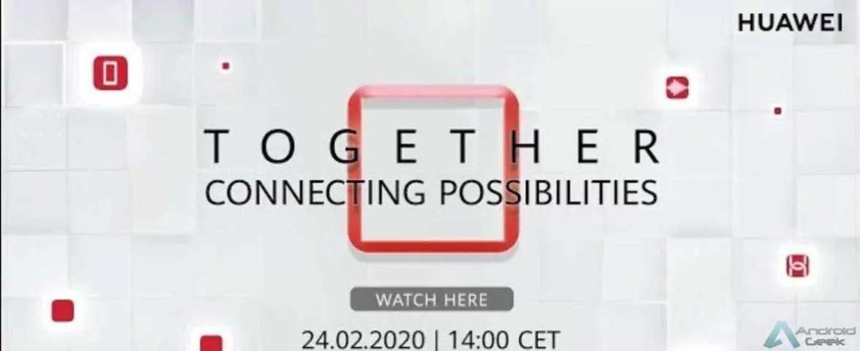 Vejam aqui em directo a conferência das novidades Huawei 1