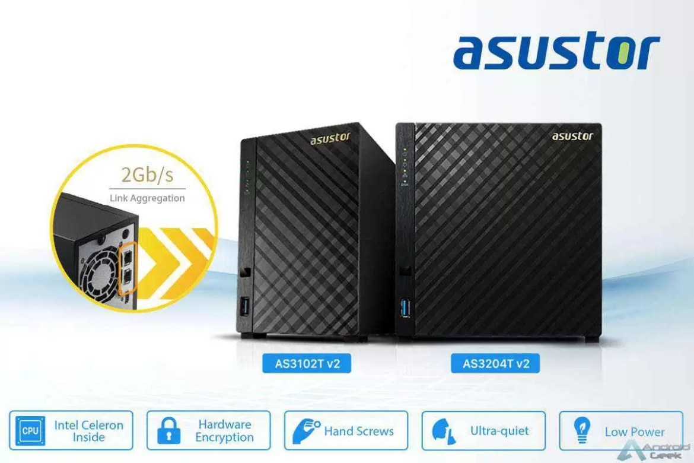 Asustor lança AS3102Tv2 em Portugal 1