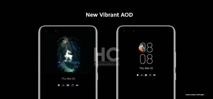 Ecrã Always On colorido chega às séries Huawei P30 e Mate 20 com o EMUI 10.1 1