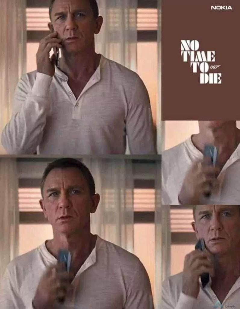 """Os telefones Nokia são os dispositivos móveis oficiais do filme """"Sem Tempo para Morrer"""" 3"""