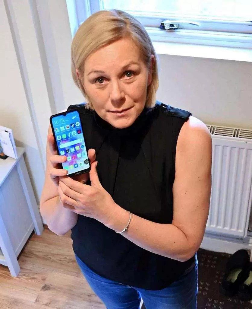 Telefone da Huawei salva a vida de mulher 1