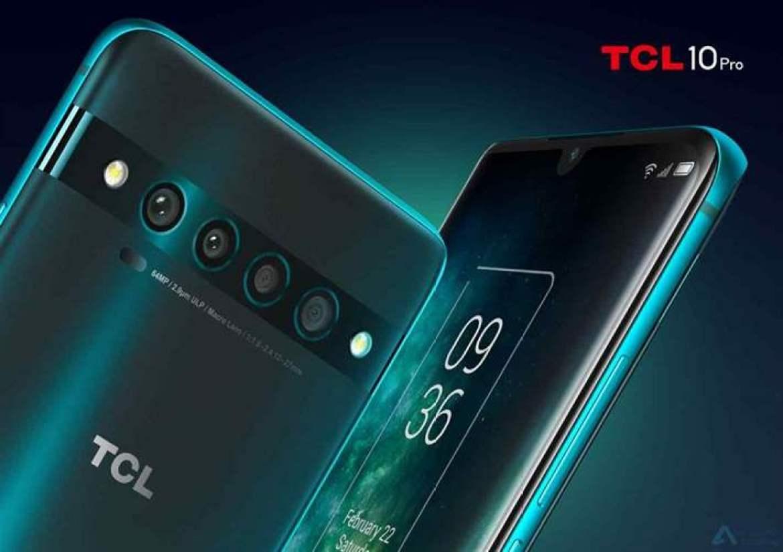 TCL expande a sua gama de telefones com a série TCL 10 4