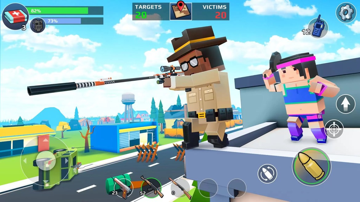 PUBG Battle Royale Android Minecraft