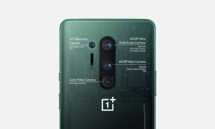 câmaras OnePlus 8 Pro
