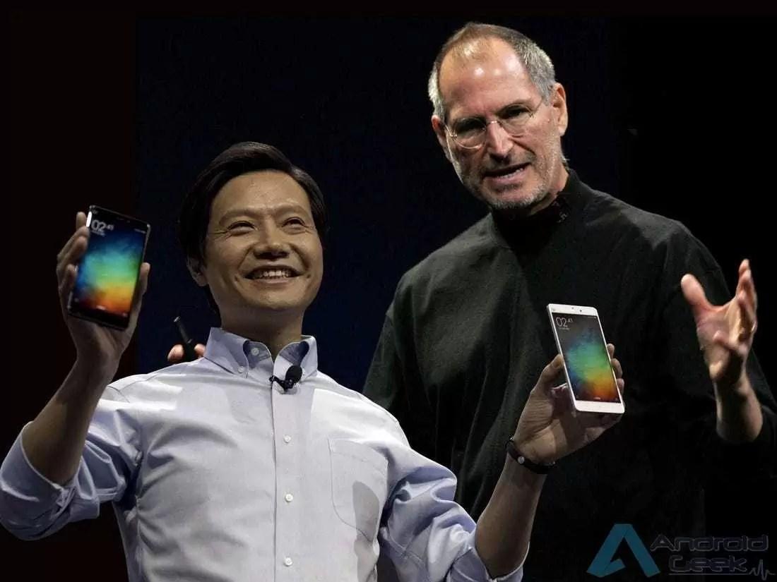 A história repete-se. CEO da Xiaomi, Lei Jun, apanhado com um iPhone 1