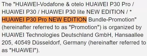 Huawei P30 Pro NEW EDITION a ser lançado a 15 de maio, virá com GMS 2