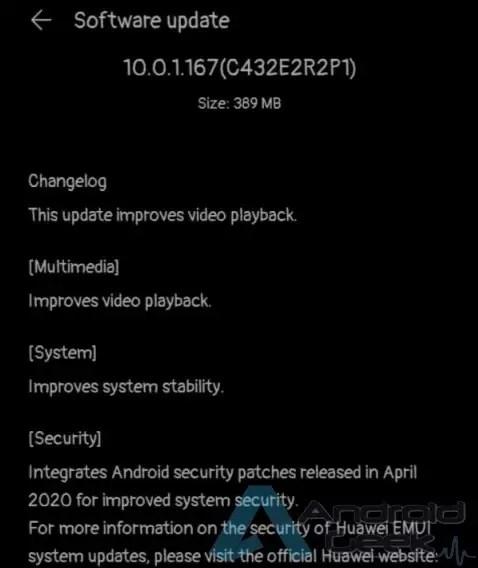 Nova atualização para Huawei P40 Lite traz melhorias na reprodução de vídeo e sistema 2
