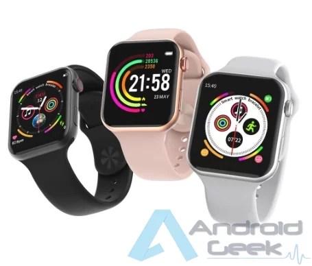 Smartwatch com integração Facebook Whatsaap etc por 20.36€. Vejam o F10 IP67 1