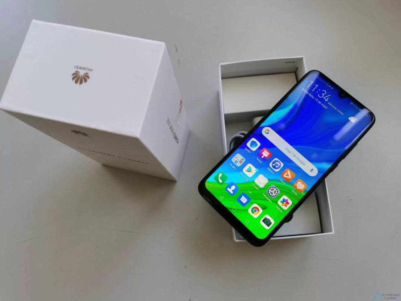 Primeiras impressões Huawei P Smart 2020. Um novo smartphone Huawei com serviços Google 3