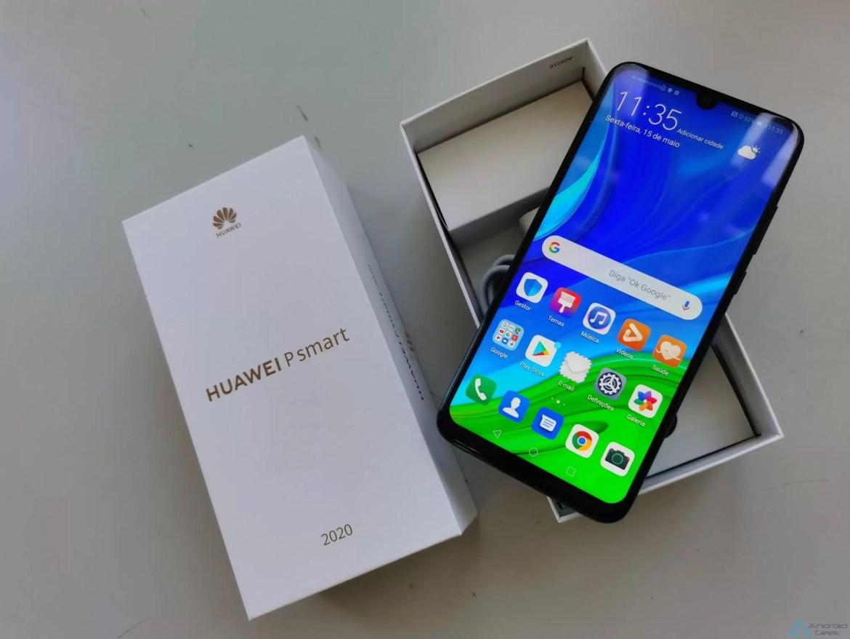Saibam o que a Huawei destaca no P Smart 2020 1