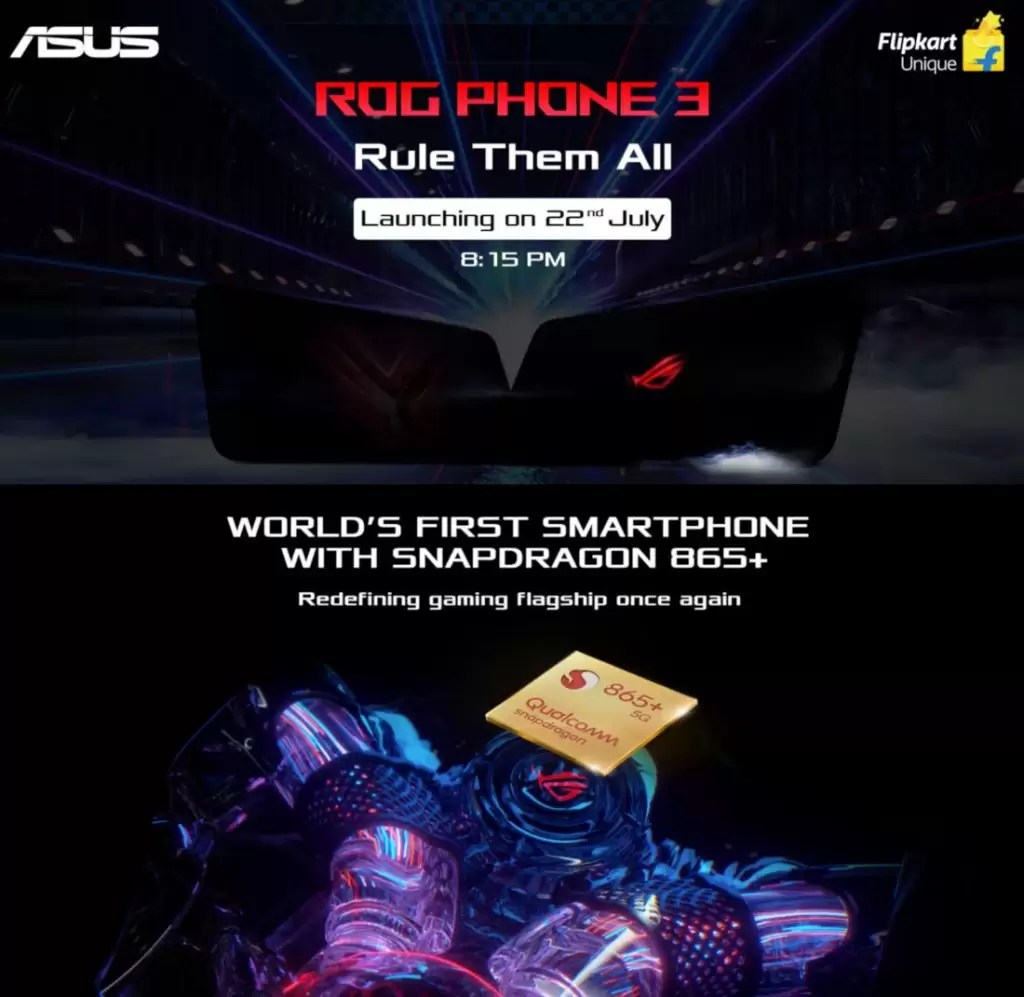 Lançamento do ASUS ROG Phone 3 India