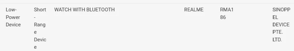 Realme Watch S Pro recebe a certificação IMDA, será lançado em breve 2