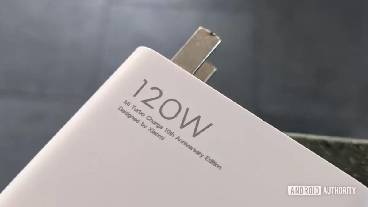 Carregador Xiaomi 120W 1
