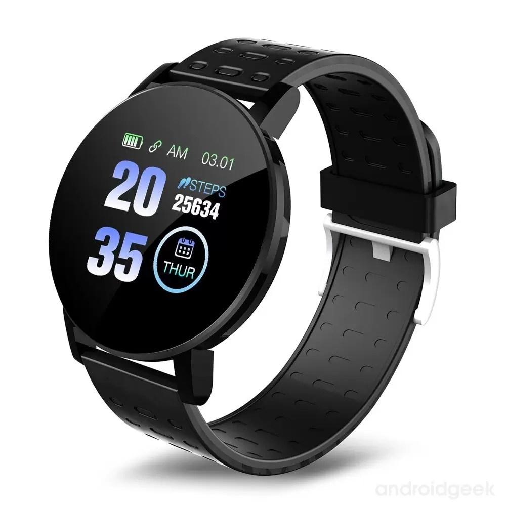 Smartwatch 119 Plus. Monitorização de saúde e muito estilo por menos de 10€ 3