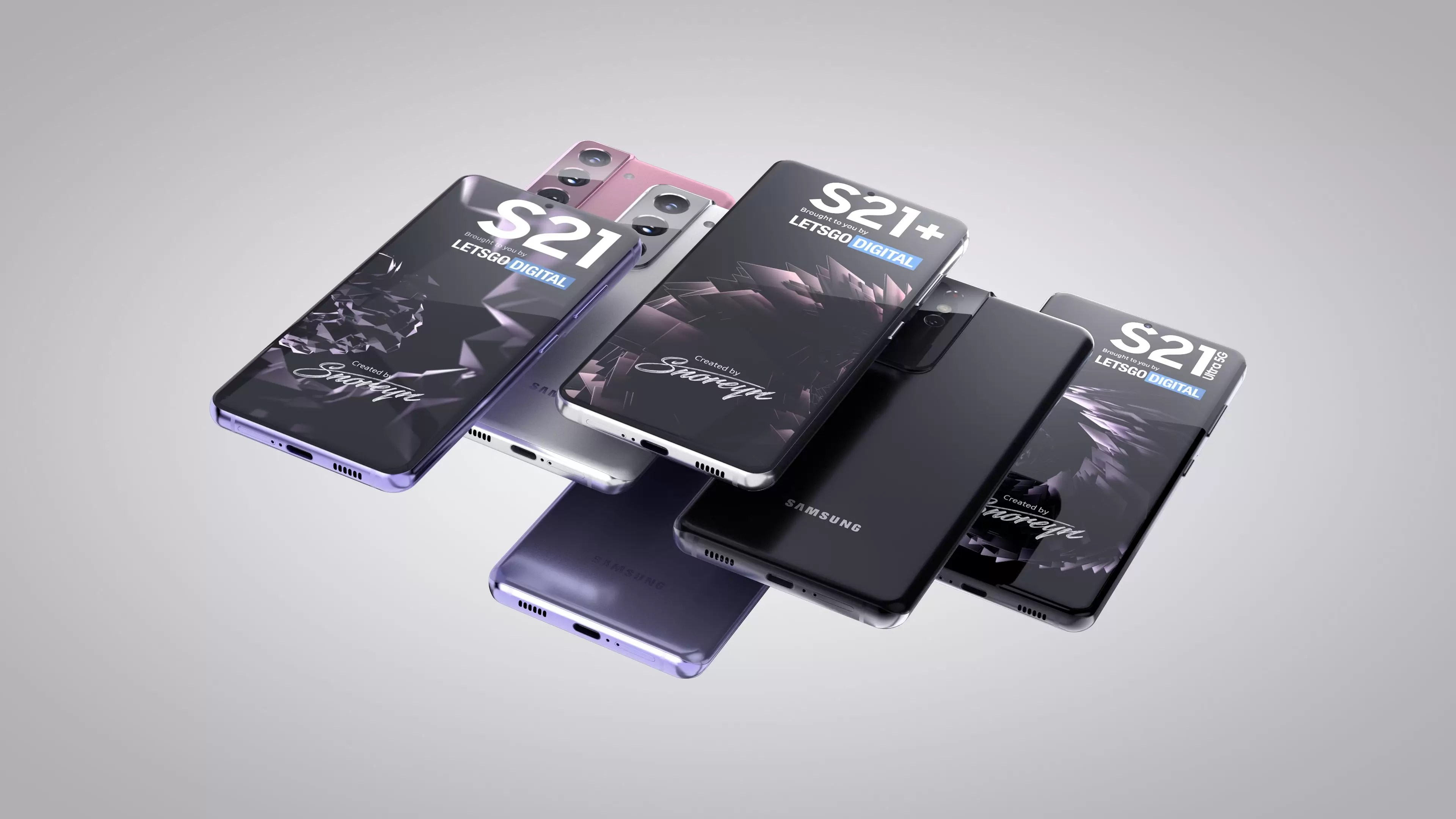 Galaxy S21 Series Renders 01