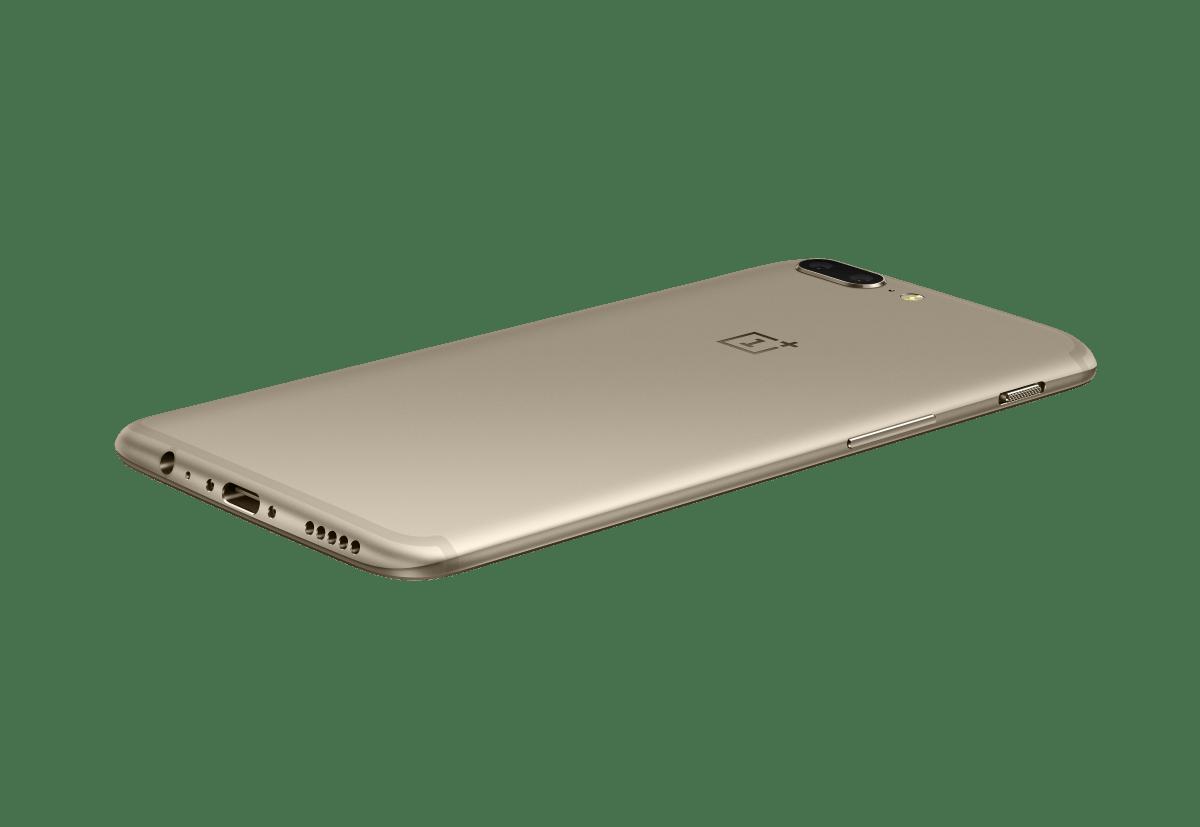 OnePlus 5 já está disponível na cor Soft Gold 5