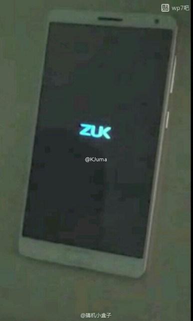 %name Impressionante Lenovo ZUK Edge aparece online image