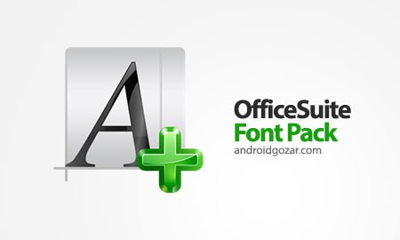 Download دانلود OfficeSuite Font Pack 1.1.9 بسته فونت آفیس سوئیت