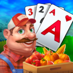 Solitaire Tripeaks Farm Adventure 1.415.0 APK MOD Unlimited Money