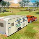 Camper Van Truck Simulator Cruiser Car Trailer 3D 1.10 APK MOD Unlimited Money