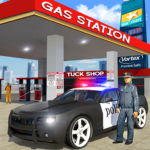 Police Car Wash Service Gas Station Parking Games 1.1 APK MOD Unlimited Money