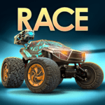 RACE Rocket Arena Car Extreme 1.0.21 APK MOD Unlimited Money