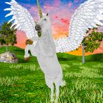 Flying Horse Simulator 2021 Baby Unicorn Games 1.1 APK MOD Unlimited Money
