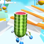 Fruit Run 3D 1.0.3 APK MOD Unlimited Money