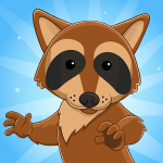 Roons Idle Raccoon Clicker 1.33 APK MOD Unlimited Money