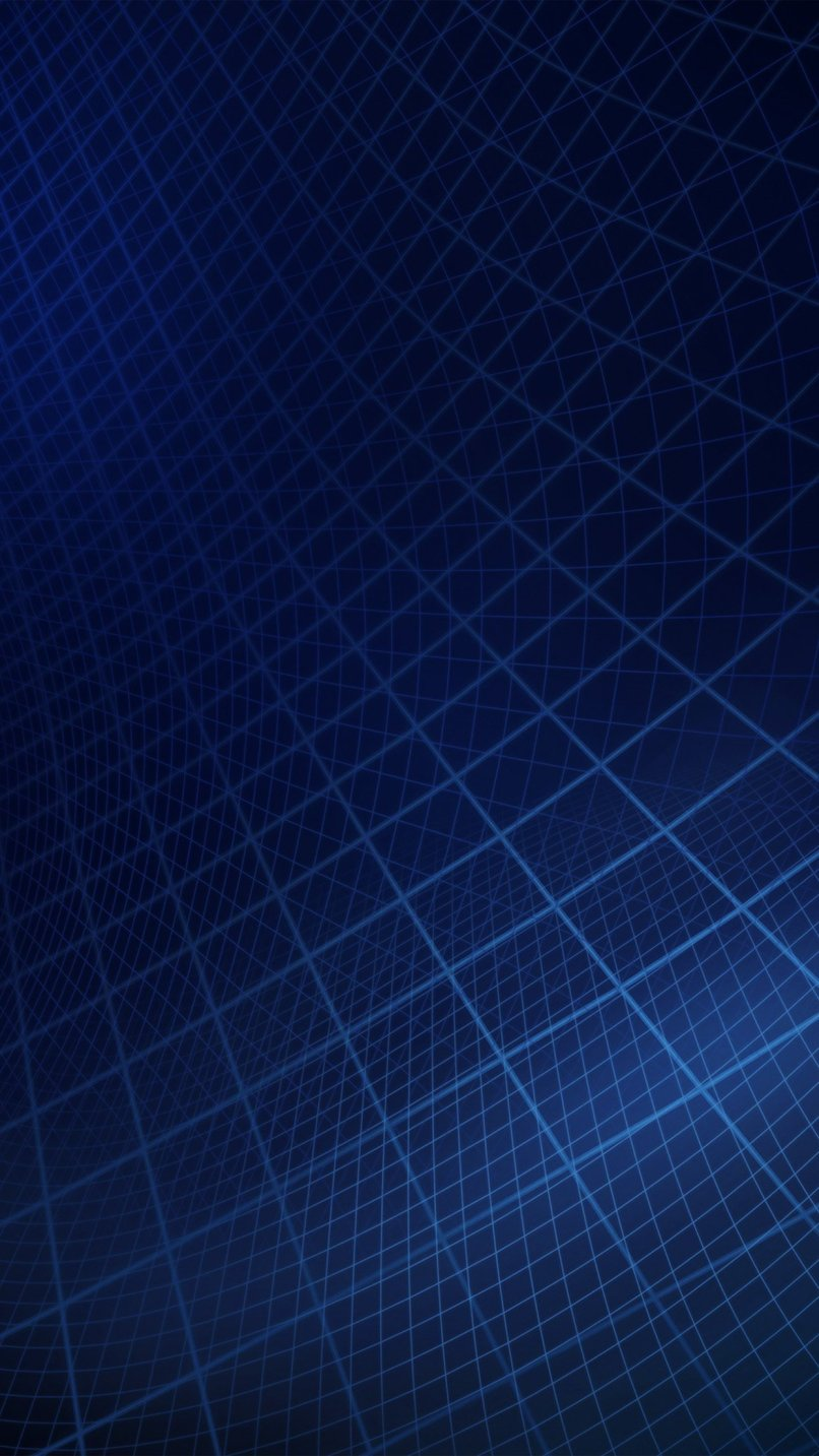 Abstract Line Digital Dark Blue Pattern Android Wallpaper