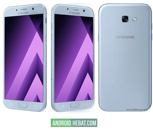 cara ota update Samsung A7 ke android Nougat