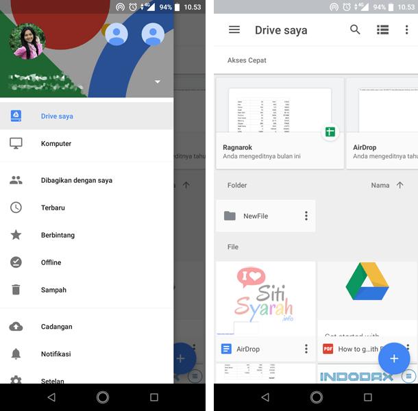 Penyimpanan online terbaik untuk Android