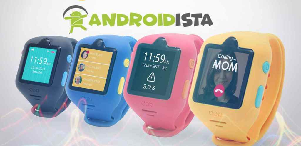 Dokiwatch smart watches for 12-year-olds