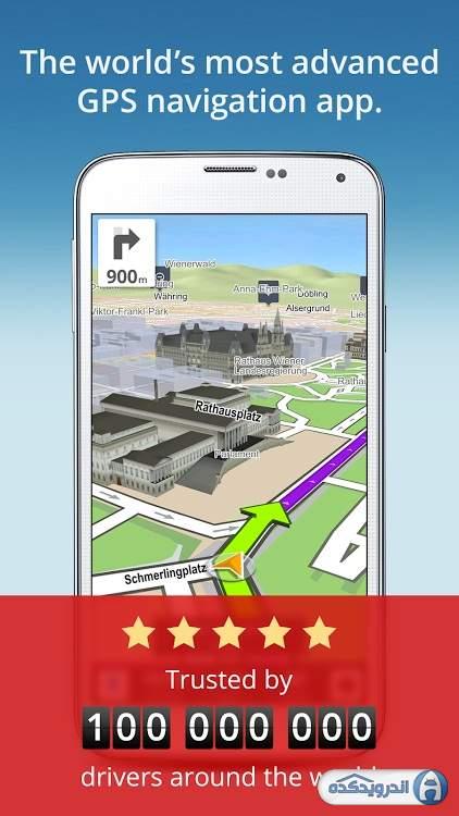 GPS Navigation Maps Sygic V APK DOWNLOAD - Sygic us maps