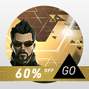 Download beautiful game Deus Ex GO v2.1.76900 Android - mobile data + mode