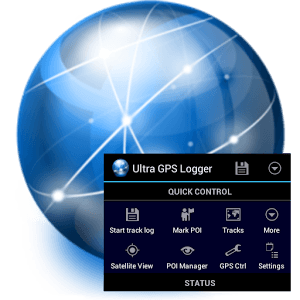 Download Ultra GPS Logger 3.141h Android GPS tracker software