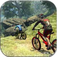 Download MTB DownHill: Multiplayer 1.0.22 Mountain bike racing game