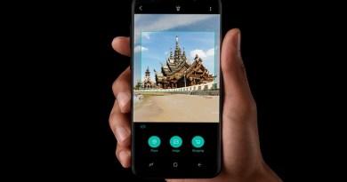 Samsung Bixby Vision at work