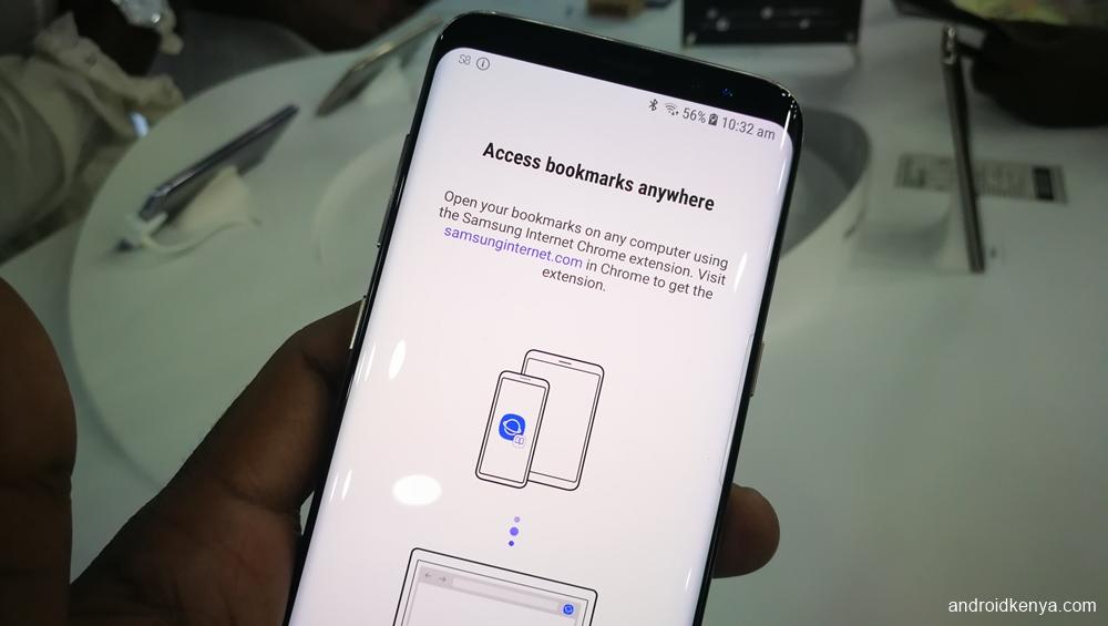 Samsung Galaxy S8 - Internet browser
