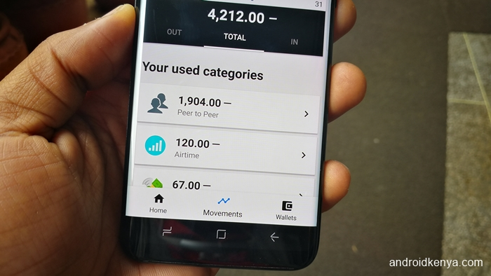 Overview finance app