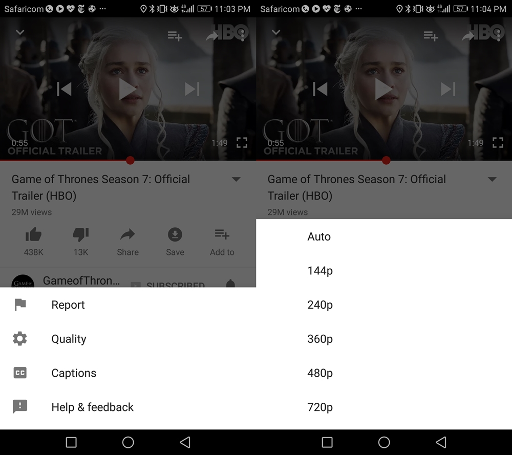 How to save on data when watching YouTube videos on mobile